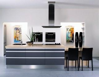 Köket kommer från HTH och heter AluDekor