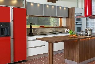 Köket kommer från Canadaköket och heter Alu-Line