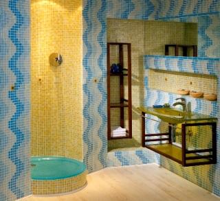 Underbara glasmosaik-kombinationer från Eurobad.