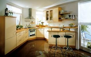 Köket kommer från Noblessa och heter Grado