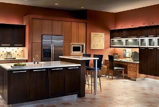 Köket är designat av KraftMaid