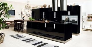 Köket kommer från Kvik kök och heter Nero
