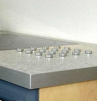 Bänkskiva i laminatmaterial från dfi.