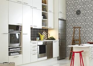 Köket kommer från Marbodal och heter Alfa Vit