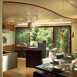 Köket är designat av Troy Adams design
