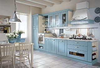 Köket tillverkas av Vismap och säljs genom Vabene. Modellen heter Alba.