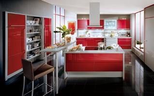 Köket kommer från Noblessa och heter Xeno