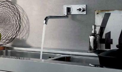 Väggmonterad köksblandare från Hansgrohe