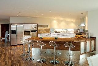 Köket kommer från Lundins kök och heter Lobo Polar