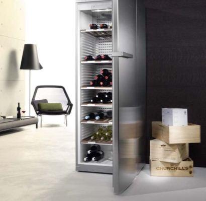Vinlagringsskåp från Miele för de riktiga vinkännarna
