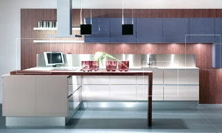 Köket kommer från JKE design och heter Riva